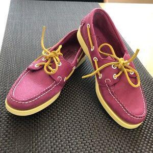 "Sebago Womens Docksides Boat Shoes SZ 6-1/2"" NEW"
